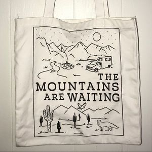 Camping • Farmers Market • Travel Canvas Tote